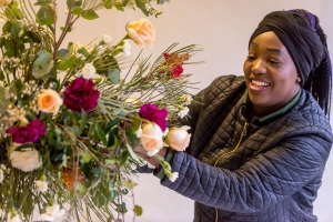 Floristry, balloon design and gardening courses