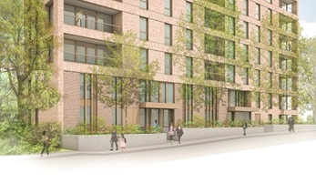 The development will provide high-quality council housing
