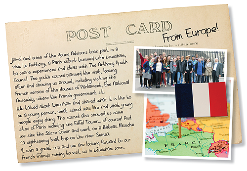 Post card from Europe
