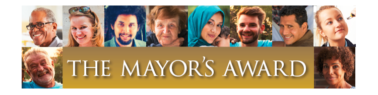 The Mayor's Award  banner